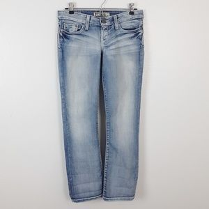 BKE Madison Faded Light Wash Jeans Stretch 25